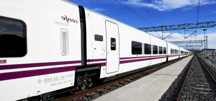 Tren AVE en Madrid